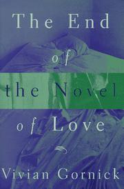 Cover art for THE END OF THE NOVEL OF LOVE