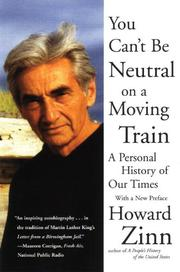 Book Cover for YOU CAN'T BE NEUTRAL ON A MOVING TRAIN