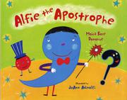 Book Cover for ALFIE THE APOSTROPHE
