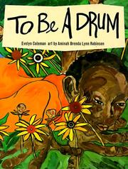 Book Cover for TO BE A DRUM