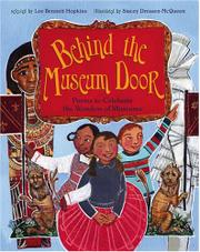 Cover art for BEHIND THE MUSEUM DOOR