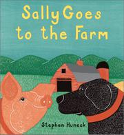 Book Cover for SALLY GOES TO THE FARM