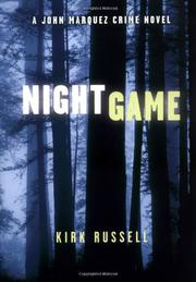Book Cover for NIGHT GAME