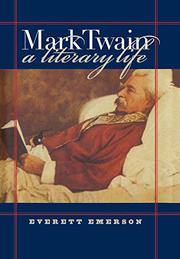 Cover art for MARK TWAIN, A LITERARY LIFE