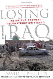 Cover art for LOSING IRAQ