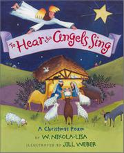 Cover art for TO HEAR THE ANGELS SING