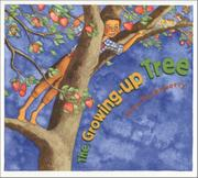 Cover art for THE GROWING-UP TREE