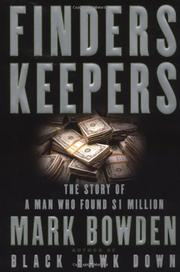 Cover art for FINDERS KEEPERS