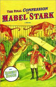 Cover art for THE FINAL CONFESSION OF MABEL STARK