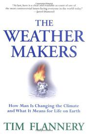 Book Cover for THE WEATHER MAKERS