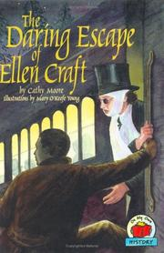 Cover art for THE DARING ESCAPE OF ELLEN CRAFT