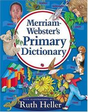 Book Cover for MERRIAM-WEBSTER'S PRIMARY DICTIONARY