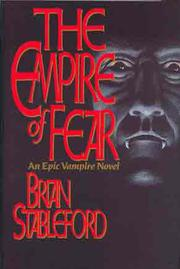 Cover art for THE EMPIRE OF FEAR