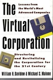 Cover art for THE VIRTUAL CORPORATION