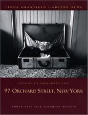 Book Cover for 97 ORCHARD STREET, NEW YORK