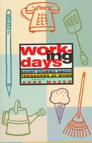 Cover art for WORKING DAYS