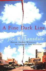 Book Cover for A FINE DARK LINE