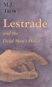 Cover art for LESTRADE AND THE DEAD MAN'S HAND