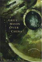 Cover art for A GREY MOON OVER CHINA