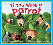 Book Cover for IF YOU WERE A PARROT