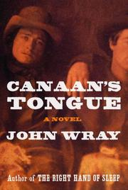 Cover art for CANAAN'S TONGUE