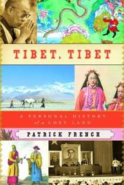 Book Cover for TIBET, TIBET