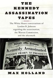 Cover art for THE KENNEDY ASSASSINATION TAPES