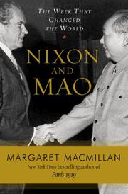 Cover art for NIXON AND MAO