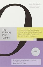 Cover art for THE O. HENRY PRIZE STORIES 2005