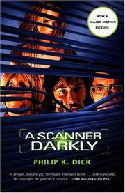 Book Cover for A SCANNER DARKLY