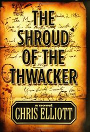 Cover art for THE SHROUD OF THE THWACKER