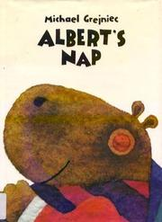 Cover art for ALBERT'S NAP