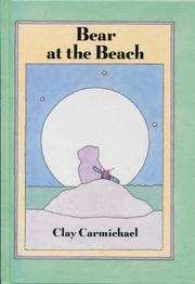 Book Cover for BEAR AT THE BEACH