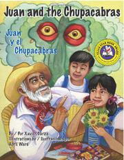 Cover art for JUAN AND THE CHUPACABRAS/JUAN Y EL CHUPACABRAS