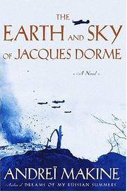 Cover art for THE EARTH AND SKY OF JACQUES DORME