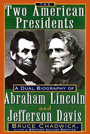 Cover art for THE TWO AMERICAN PRESIDENTS