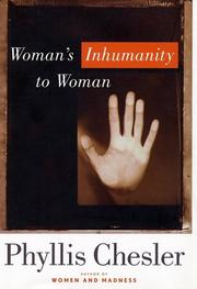 Cover art for WOMAN'S INHUMANITY TO WOMAN