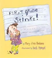 Book Cover for FIRST GRADE STINKS!