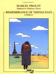 Cover art for REMEMBRANCE OF THINGS PAST