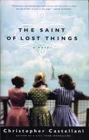 Cover art for THE SAINT OF LOST THINGS