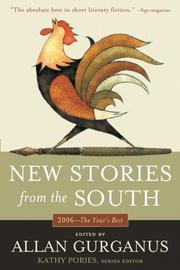 Cover art for NEW STORIES FROM THE SOUTH