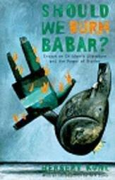 Cover art for SHOULD WE BURN BABAR?