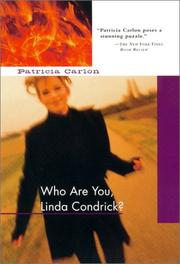 Cover art for WHO ARE YOU, LINDA CONDRICK?