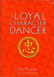 Book Cover for A LOYAL CHARACTER DANCER