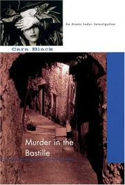 Cover art for MURDER IN THE BASTILLE