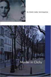 Cover art for MURDER IN CLICHY