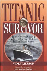Book Cover for TITANIC SURVIVOR