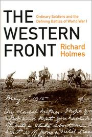 Book Cover for THE WESTERN FRONT