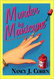 Cover art for MURDER BY MANICURE
