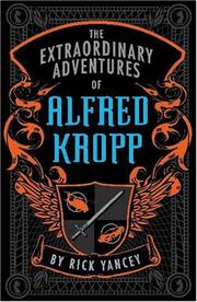 Cover art for THE EXTRAORDINARY ADVENTURES OF ALFRED KROPP